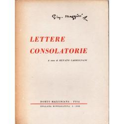 Lettere consolatorie -...