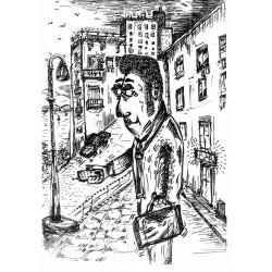 Venditore di enciclopedie nella city